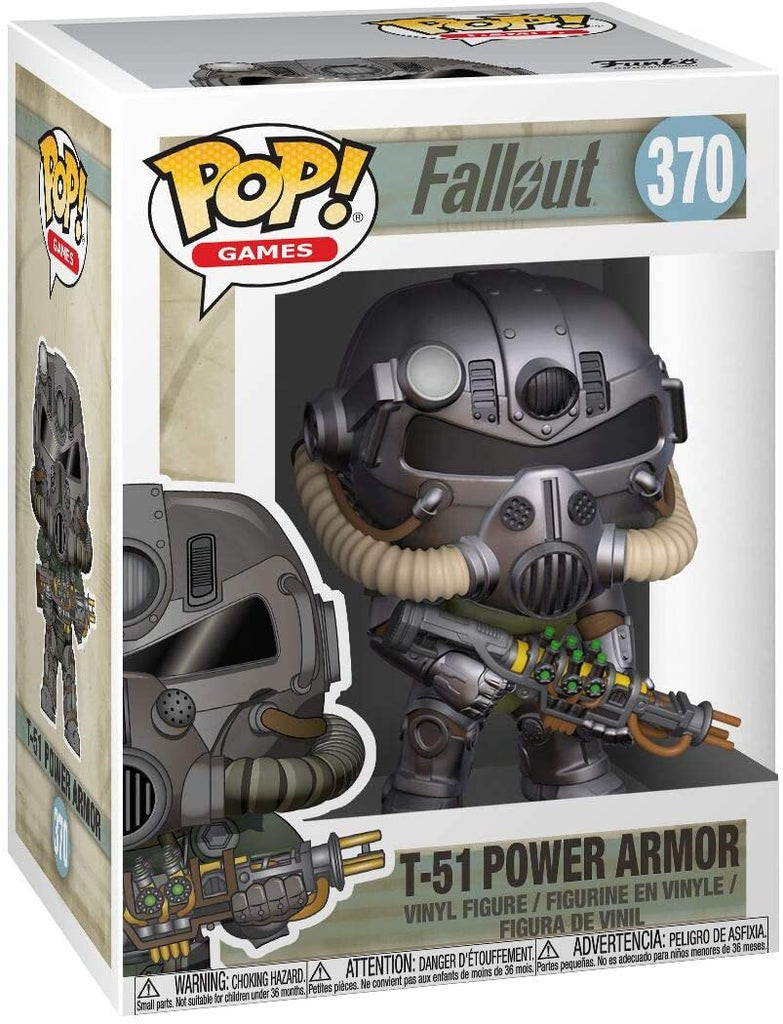 Funko Pop Games - Fallout - T-51 Power Armor #370