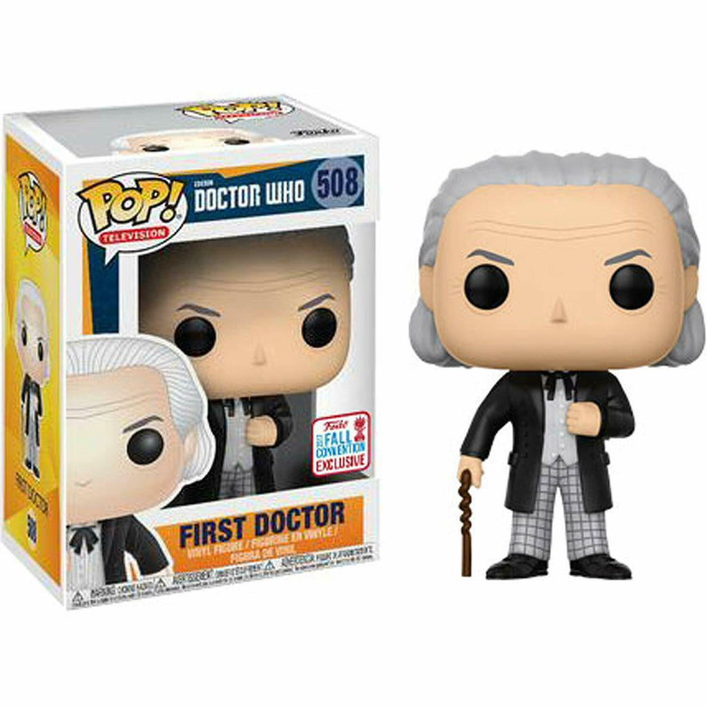 Funko Pop Television - Doctor Who - First Doctor - 2017 Fall Convention Exclusive #508