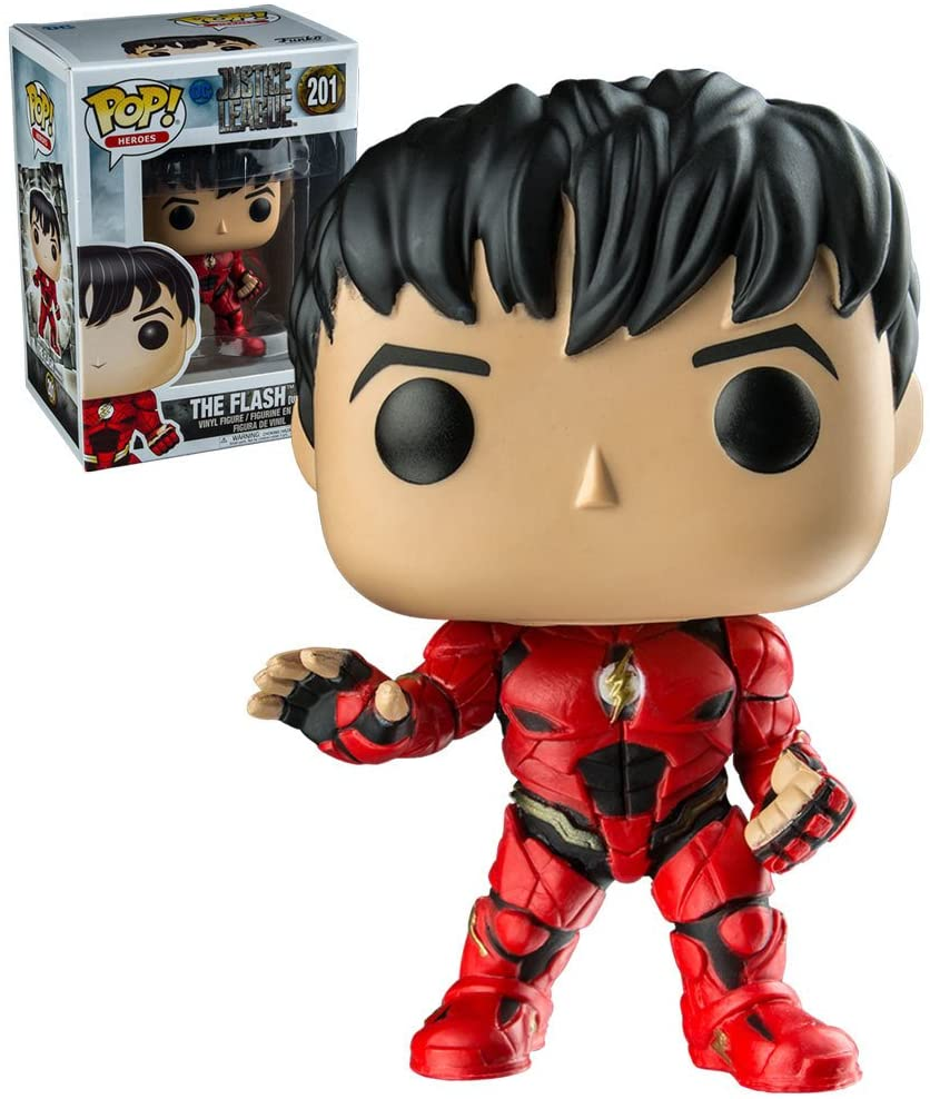 Funko Pop Heroes - Justice League - The Flash #201 - Exclusive
