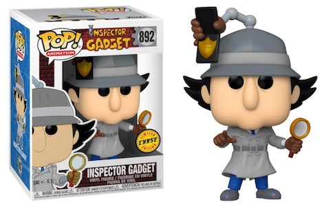 Funko Pop Animation - Inspector Gadget #892 Chase Exclusive