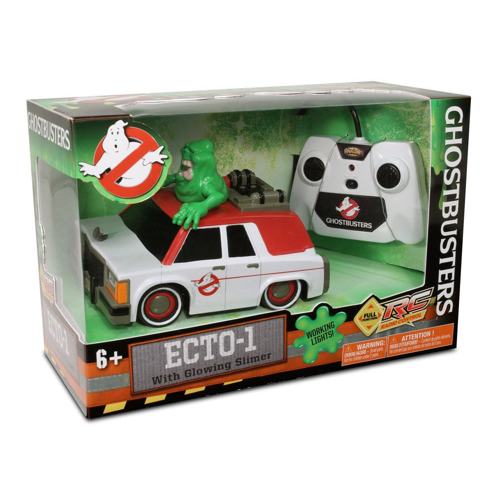 Ghostbusters Remote Control Car RC - Ecto-1 with Glowing Slimer