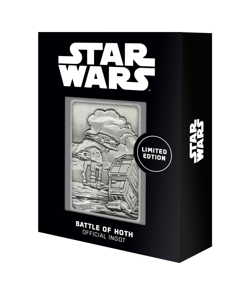 Star Wars Iconic Scene Collection Ingot - Battle for Hoth - Limited Edition