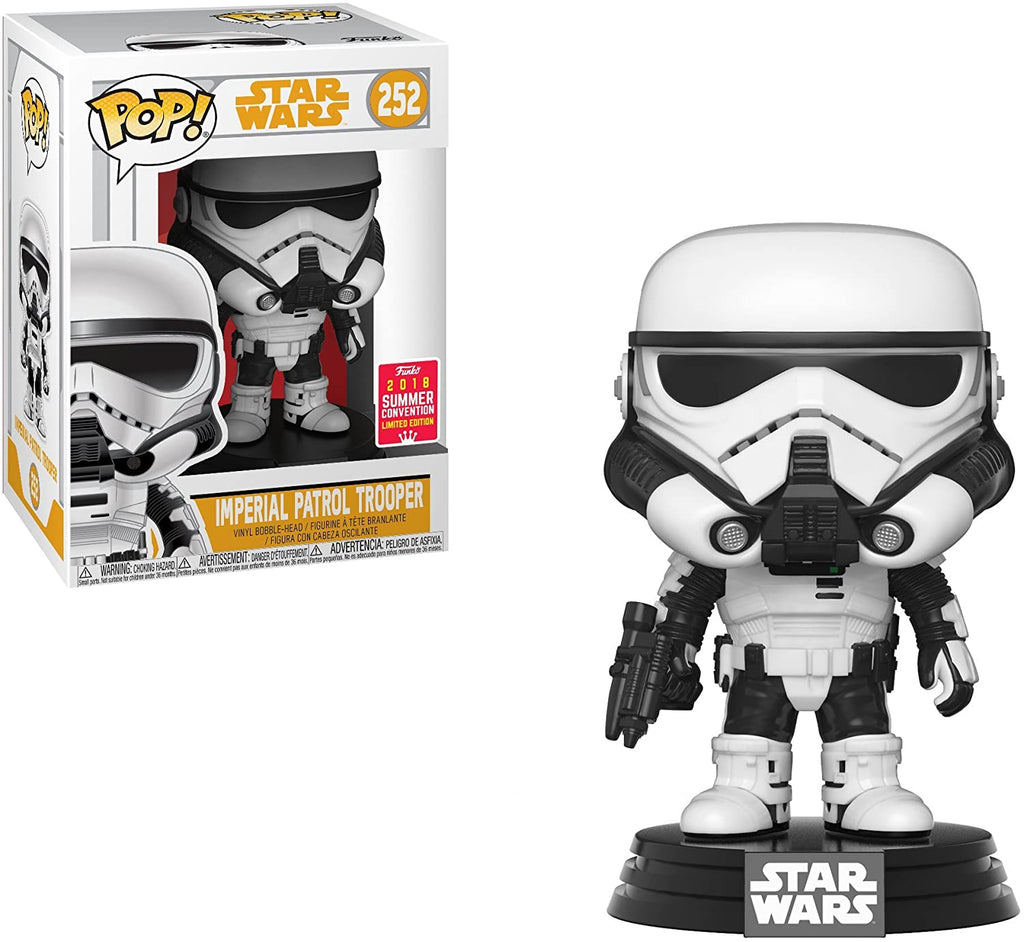 Funko Pop Star Wars - Imperial Patrol Trooper 2018 Summer Convention Exclusive #252