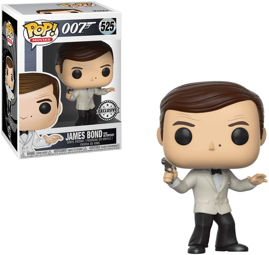 Funko Pop Movies - James Bond White Tux Octopussy Exclusive #525