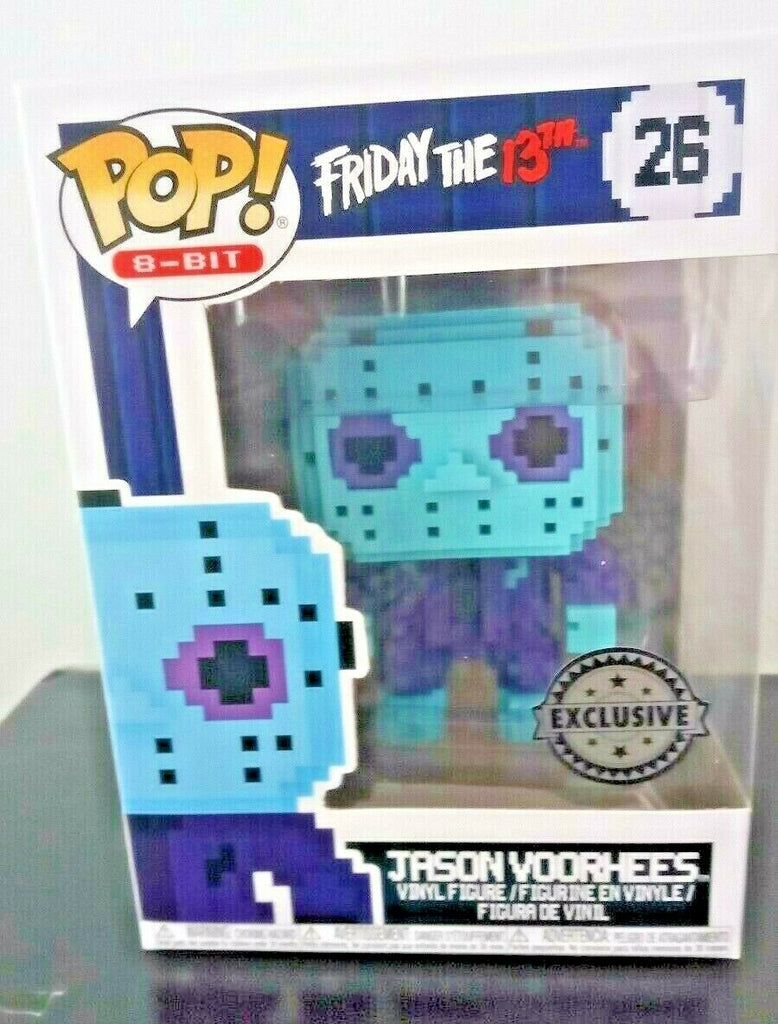 Funko Pop 8-Bit - Friday The 13th - Jason Voorhees Exclusive #26