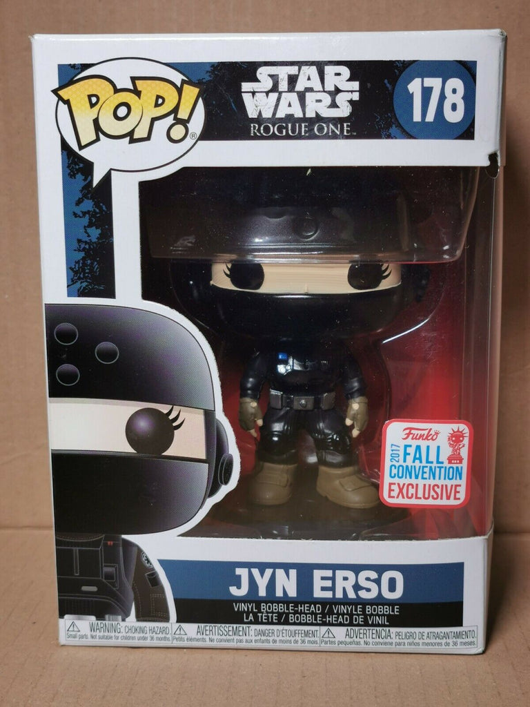 Funko Pop Star Wars - Jyn Erso 2017 Fall Convention Exclusive #178