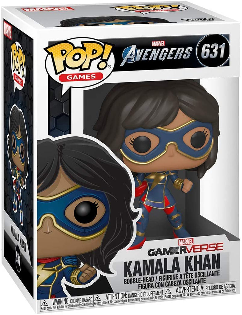 Funko Pop Games - Marvel Avengers Gamerverse - Kamala Khan #631