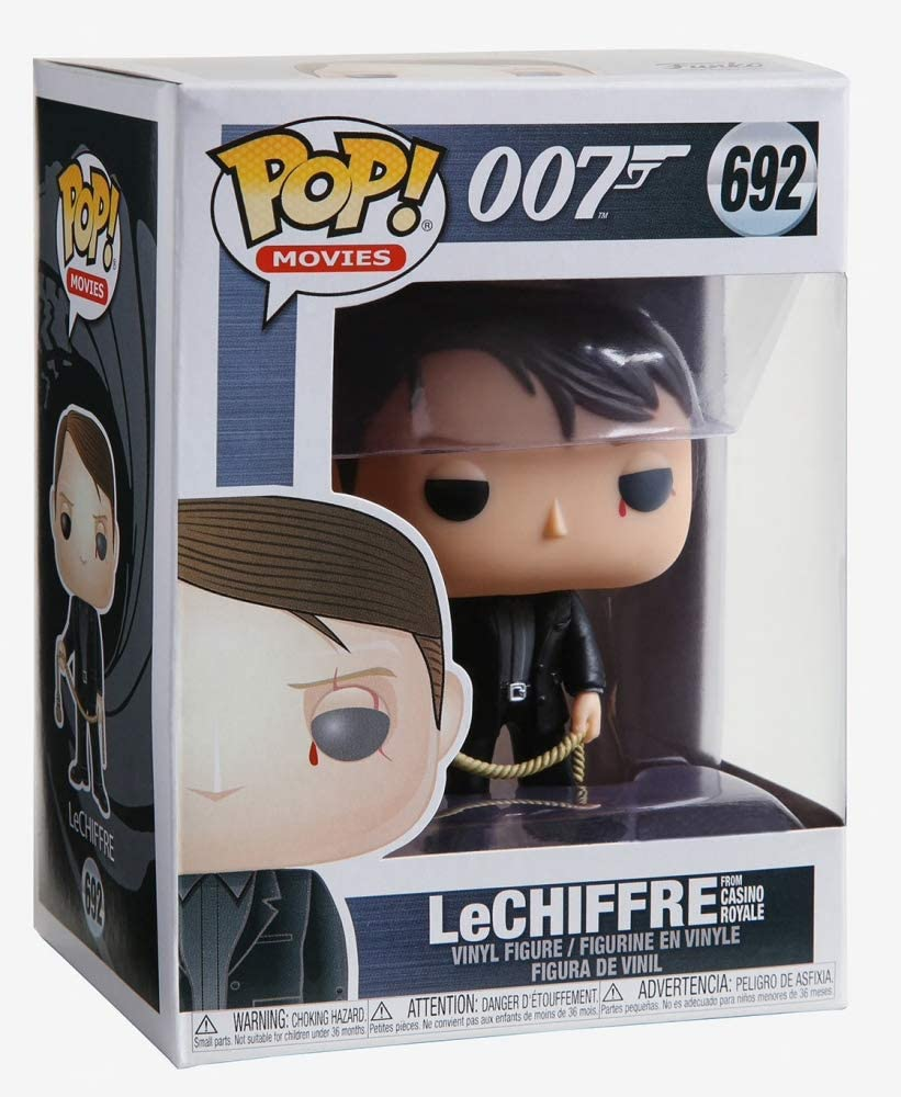 Funko Pop Movies - James Bond - Le Chiffre #692
