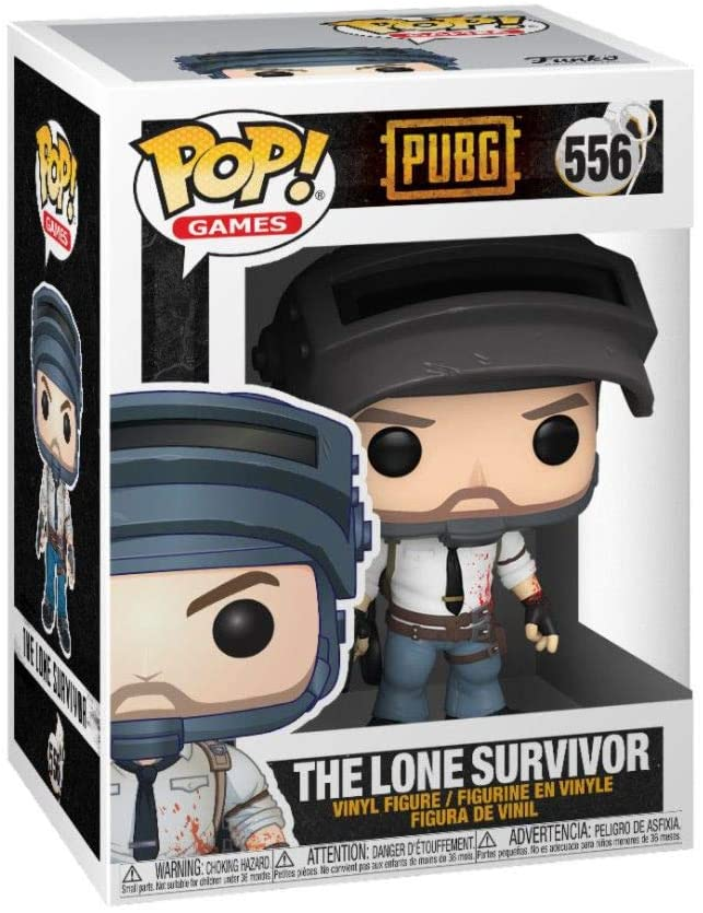 Funko Pop Games - PUBG - The Lone Survivor #556