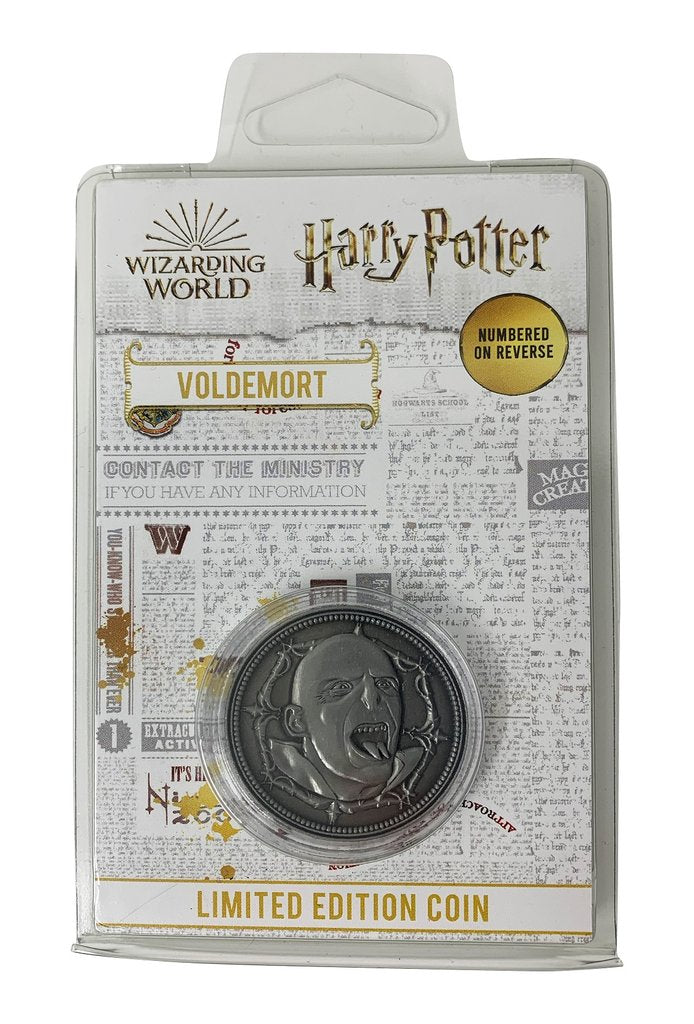 Harry Potter - Lord Voldemort Limited Edition Coin