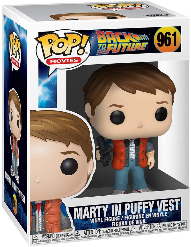 Funko Movies - Back to the Future - Marty in Puffy Vest #961