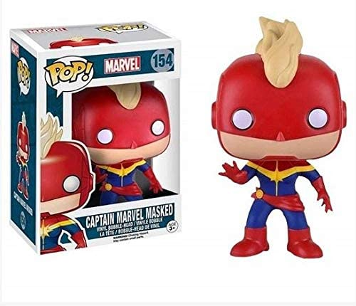 Funko Pop Marvel - Captain Marvel Masked #154