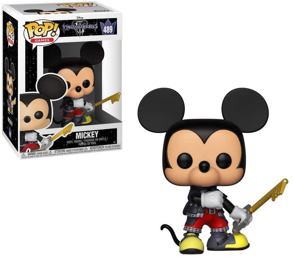 Funko Pop Games - Kingdom Hearts 3 - Mickey Mouse  #489