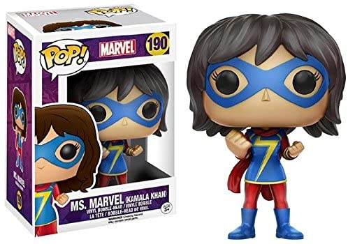 Funko Pop Marvel - Ms. Marvel (Kamala Khan) #190
