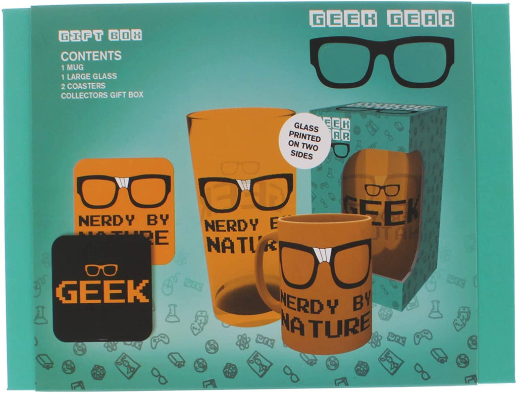 Geek Gear Collectable Gift Box Set