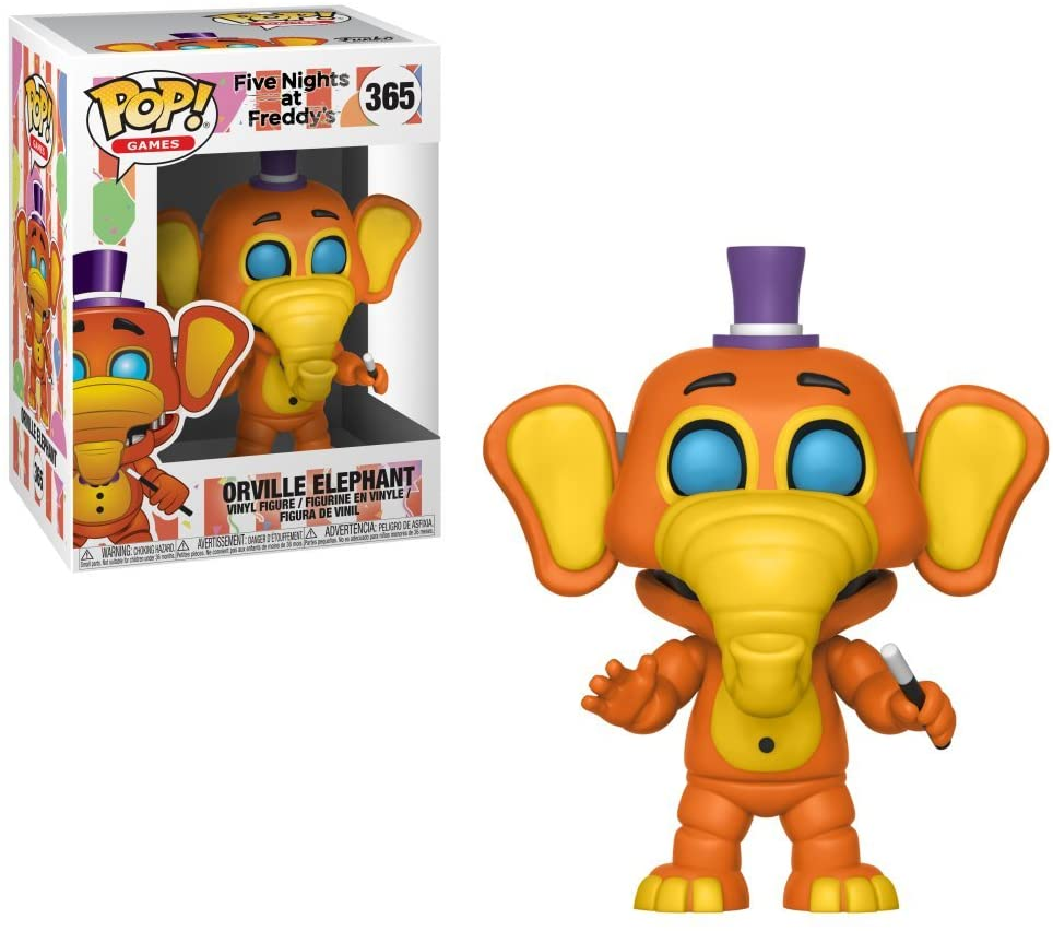 Funko Pop Games - Five Nights at Freddy's Pizza Sim - Orville Elephant #365