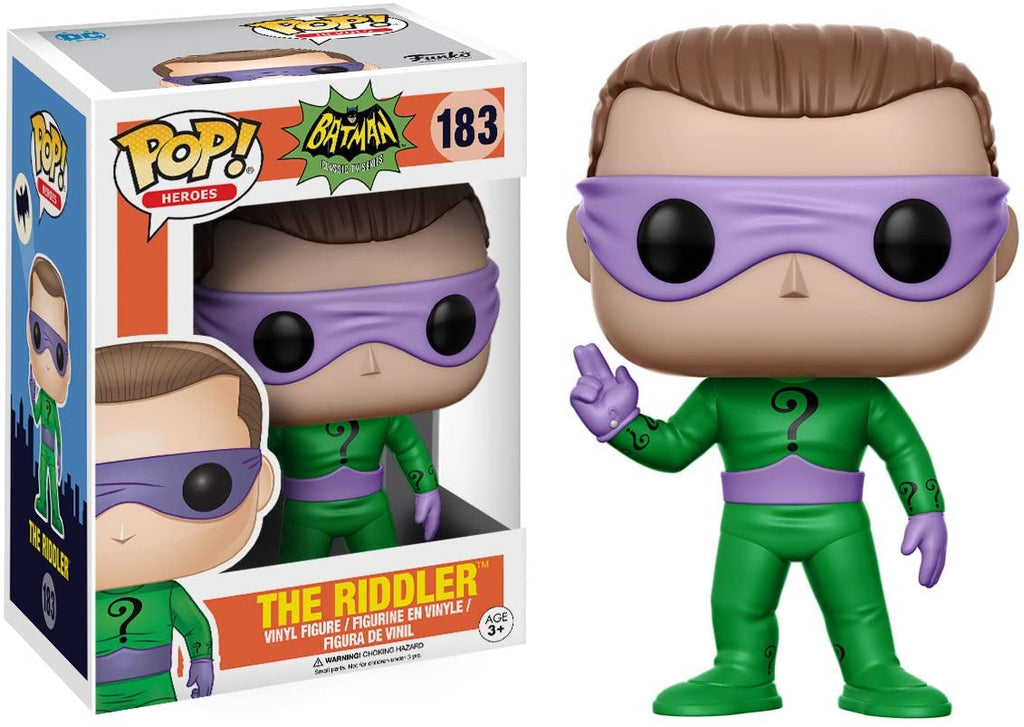 Funko Pop Heroes - Batman Classic TV Series - The Riddler #183