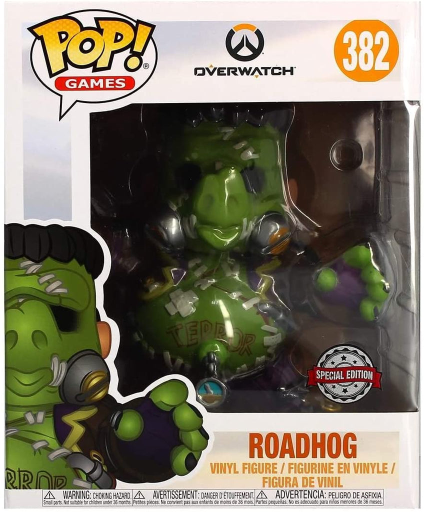 "Funko Pop Games - Overwatch - Roadhog Junkenstein's Monster 6"" Special Edition #382"