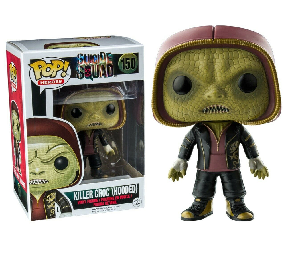 Funko Pop Heroes - Suicide Squad - Killer Croc Hooded #150