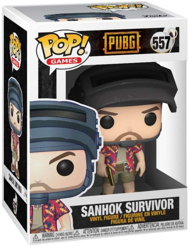 Funko Pop Games - PUBG - Sanhok Survivor - Hawaiian Shirt Guy #557