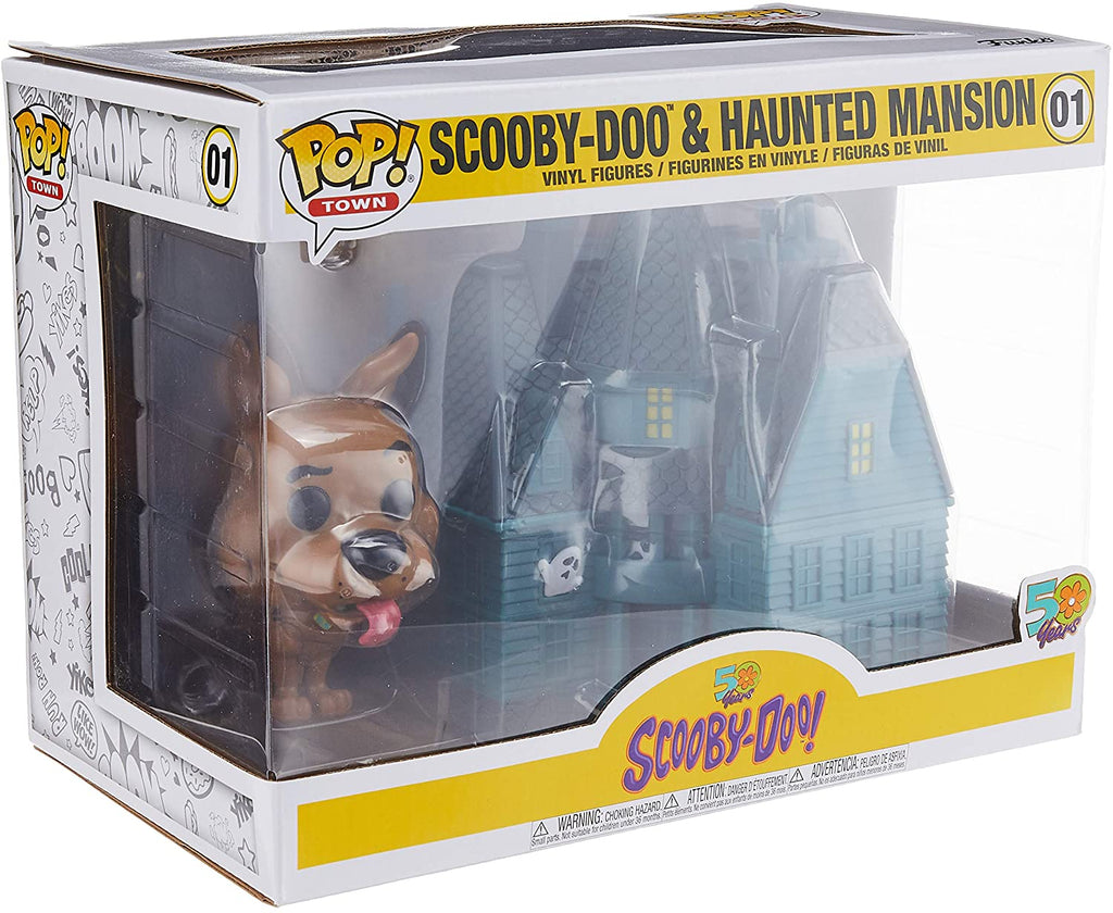 Funko Pop Town - Scooby-Doo! 50 Years - Scooby-Doo & Haunted Mansion #01