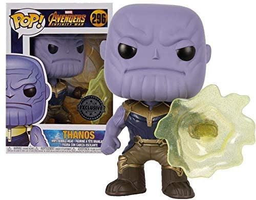 Funko Pop Marvel - Avengers Infinity War - Thanos (Portal) #296 - Exclusive
