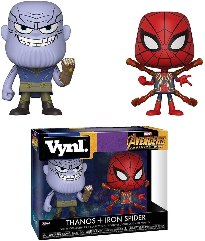 Funko Vynl - Marvel: Avengers Infinity War - Thanos and Iron Spider
