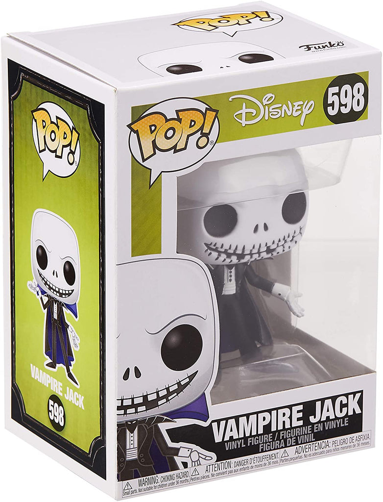 Funko Pop Disney - Nightmare before Christmas - Vampire Jack #598