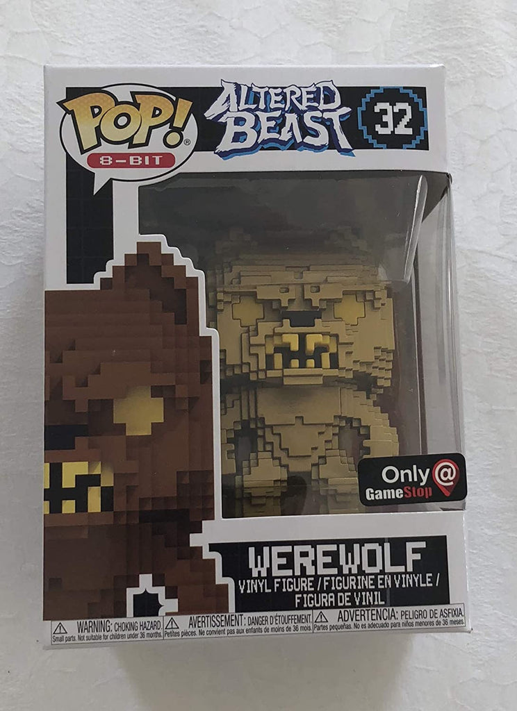 Funko Pop 8-Bit - Altered Beast - Werewolf Exclusive #32