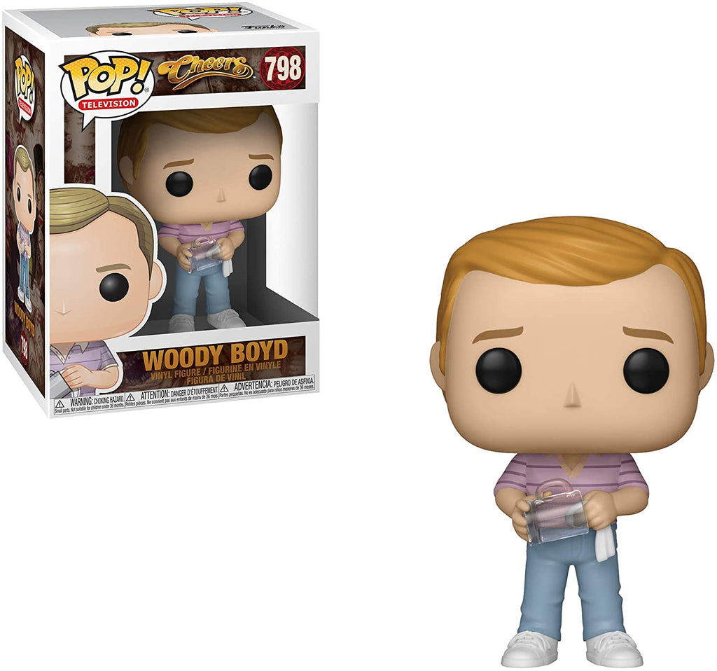 Funko Pop Television - Cheers - Woody Boyd #798