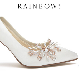 Rainbow Club Shoe Clips