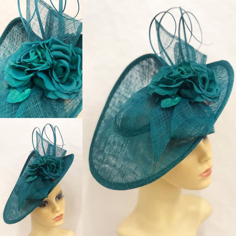 Teal Gallery Hats & Fascinators