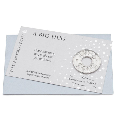 A Big Hug Pocket Charm