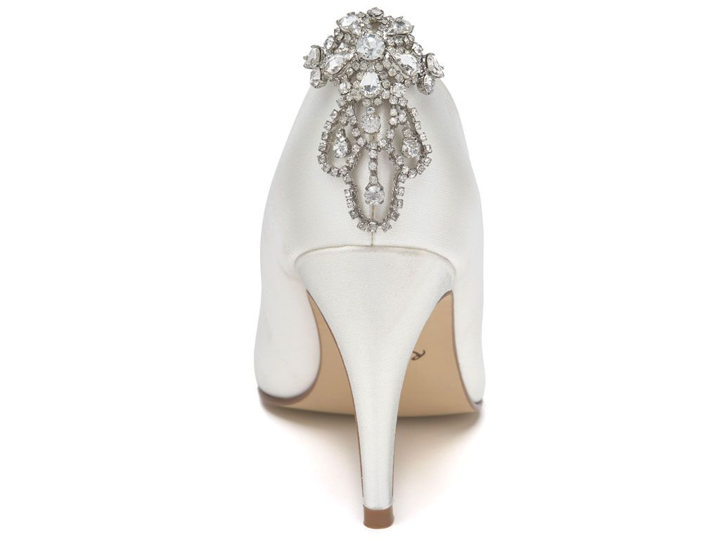 ELECTRA - Art Deco Brooch Shoe Clips