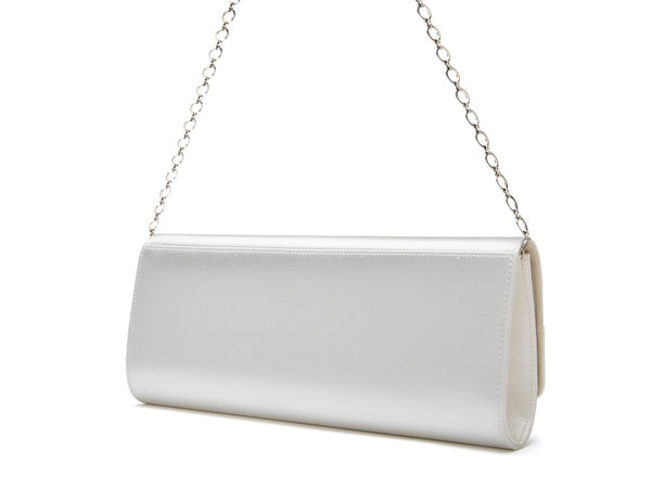 GRETA - Satin Panel Handbag