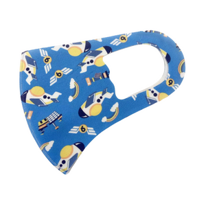Childrens Cute Aeroplane Face Mask