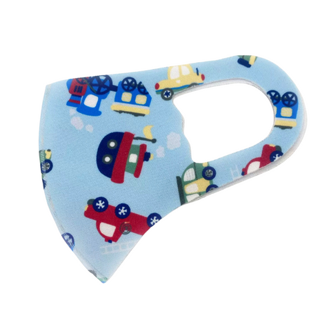 Childrens Cute Transport Face Mask
