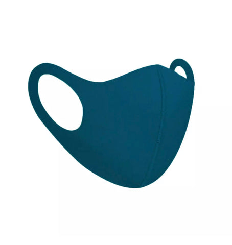 Teal Unisex Face Mask