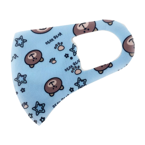 Childrens Cute Teddy Face Mask