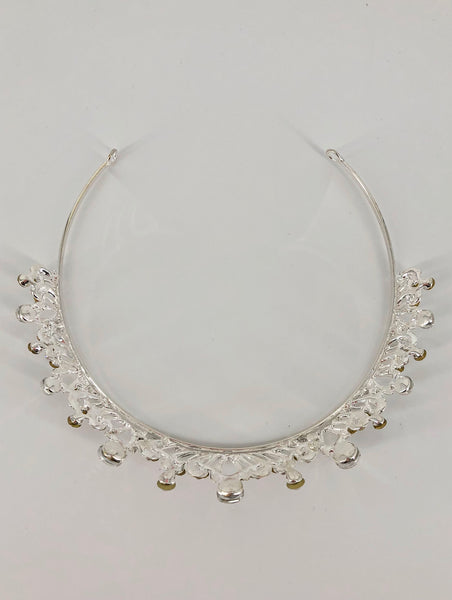 Regal Teardrop Clear Crystal Bridal Tiara