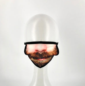 Novelty Beard Mouth Face Mask