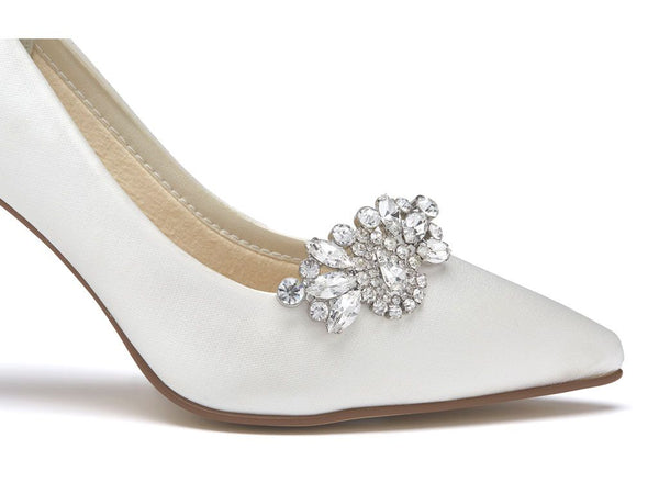 MYRA - Diamante Brooch Shoe Clips
