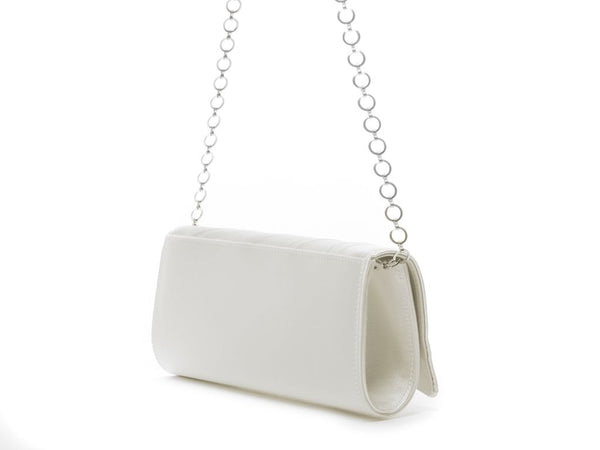 TESS - Pleated Satin Handbag