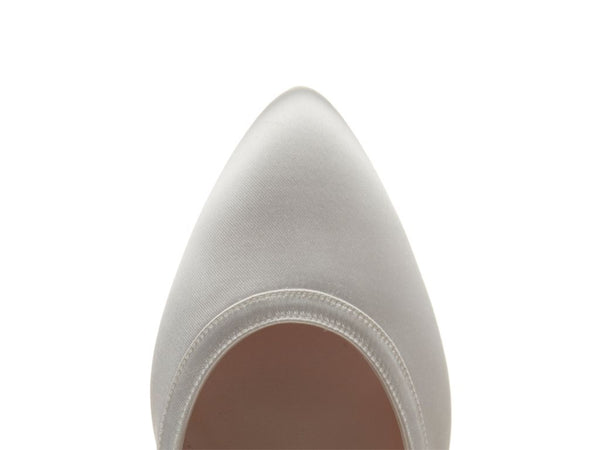 GISELE - Satin Wide Fit Court Shoes
