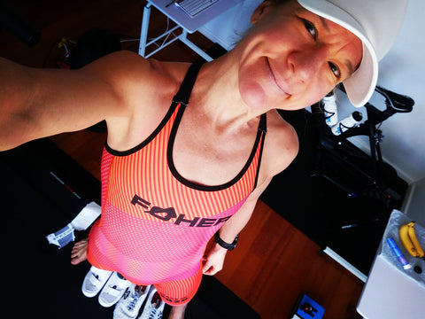Introducing Radele. One heck of a triathlete.