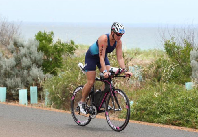 IRONMAN Mel at IRONMAN Western Australia