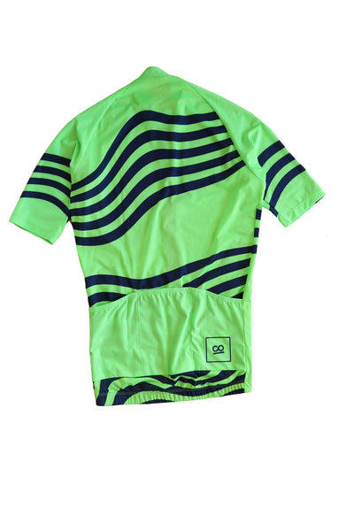 Men's Atlas Cycle Jersey Lime ARC