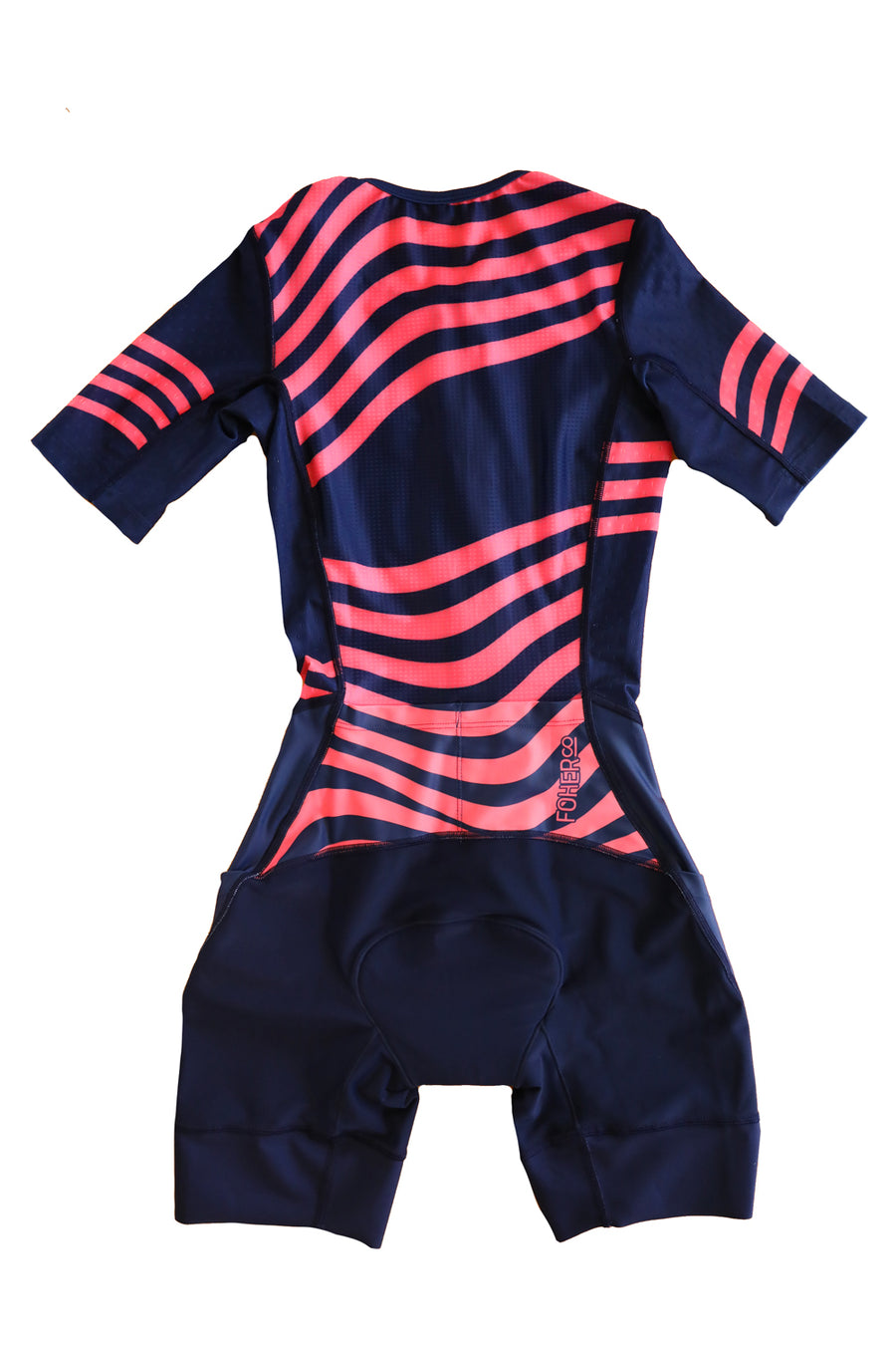 Women's Atlas Aero Sleeved Tri Suit Navy