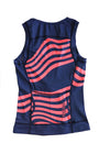 Women's Atlas Zip Front Tri Top