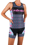 Women's Aurora Celeste Two Piece Tri Top